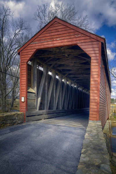 Photograph - Loys Station Covered Bridge II by Joan Carroll