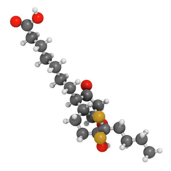 Chronic Wall Art - Photograph - Lubiprostone Chronic Constipation Drug by Molekuul