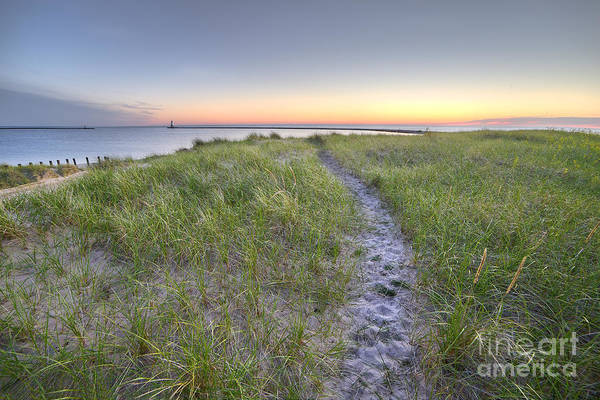 Up North Wall Art - Photograph - Ludington Beach by Twenty Two North Photography