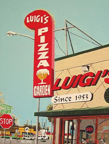 Luigi's Art Print by Paul Guyer