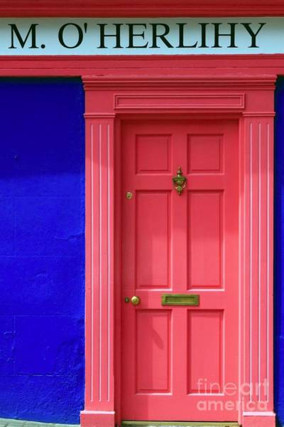Photograph - M O'herlihy Pink And Blue by Jeremy Hayden