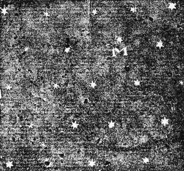 Paradox Photograph - 'm' Picture Showing Pattern Of Stars by Royal Astronomical Society/science Photo Library