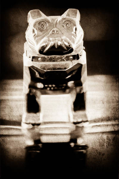 Mack Photograph - Mack Truck Hood Ornament by Jill Reger