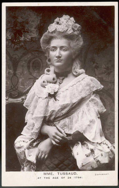Wall Art - Photograph - Madame Marie Tussaud  The Swiss Wax by Mary Evans Picture Library