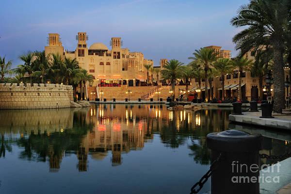 Pyrography - Madinat Jumeirah In Dubai by Jelena Jovanovic