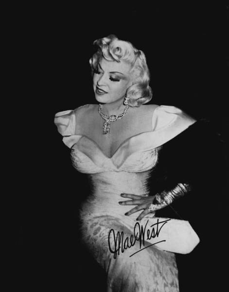 Wall Art - Photograph - Mae West by Retro Images Archive