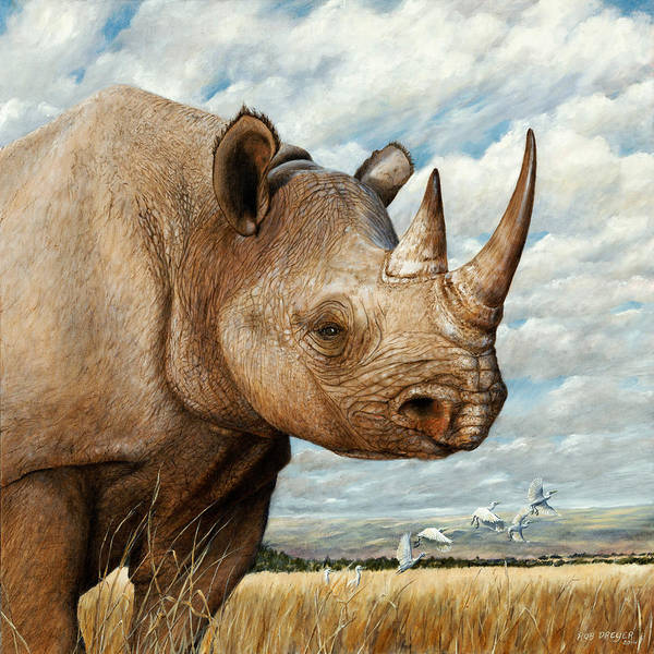 Savannah Painting - Magnificence by Dreyer Wildlife Print Collections