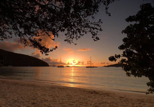Wall Art - Photograph - Maho Bay Sunset by Stephen  Vecchiotti