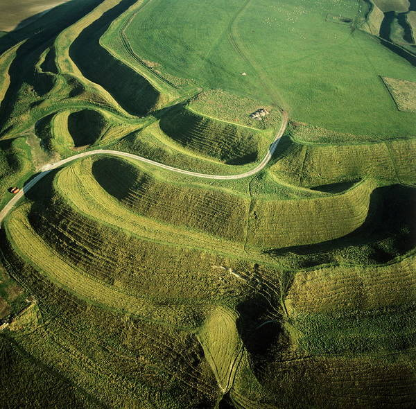 Iron Maiden Wall Art - Photograph - Maiden Castle by Skyscan/science Photo Library
