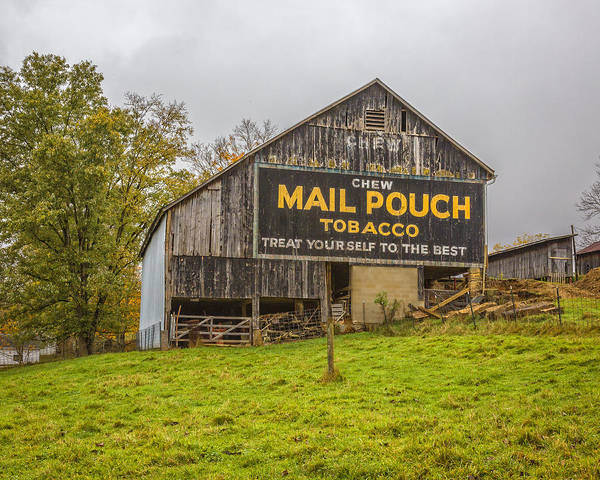 Photograph - Mail Pouch by Jack R Perry