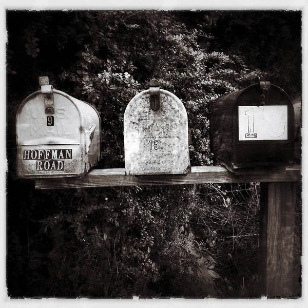 Catskills Photograph - Mailboxes by Natasha Marco
