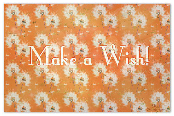 Digital Art - Make A Wish by Sherry Flaker