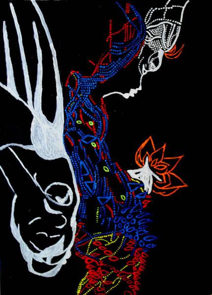 Mama Africa Wall Art - Painting - Mama Dinka - South Sudan by Gloria Ssali