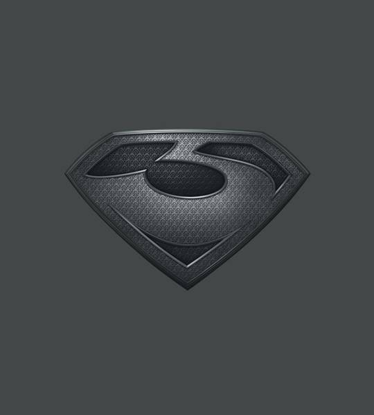 Man Of Steel Wall Art - Digital Art - Man Of Steel - Zod Shield by Brand A
