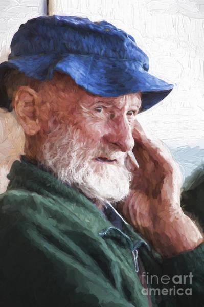 Wall Art - Photograph - Man On Ferry by Sheila Smart Fine Art Photography