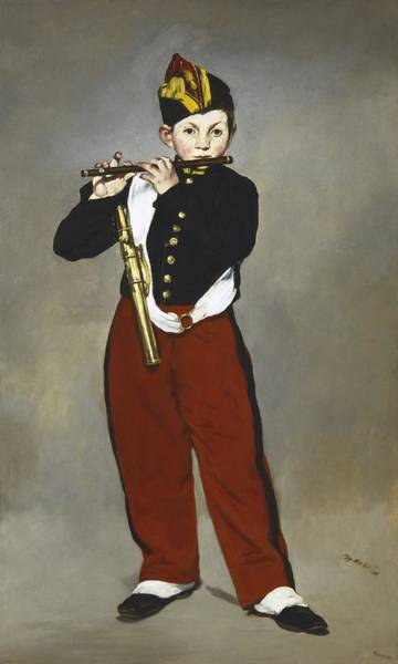 Manet Wall Art - Photograph - Manet, �douard 1832-1883. The Fifer Le by Everett