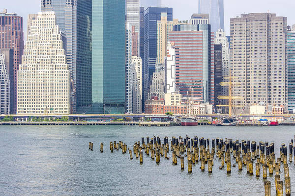 Photograph - Manhattan On The East River by Pete Hendley