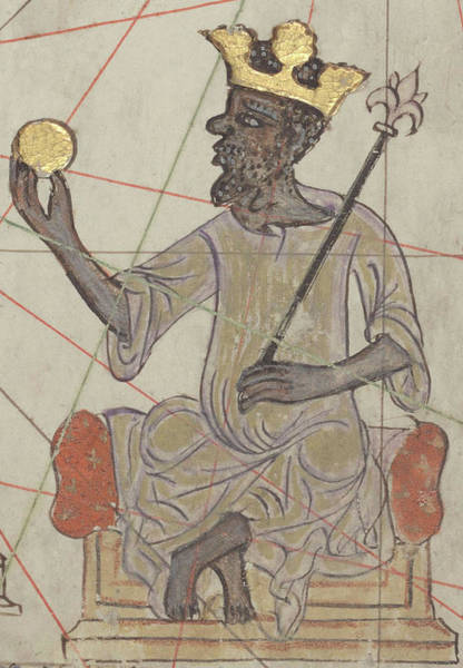 Wall Art - Photograph - Mansa Musa, Emperor Of The Mali Empire by Science Source