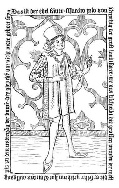 Wall Art - Photograph - Marco Polo, Venetian Merchant by British Library