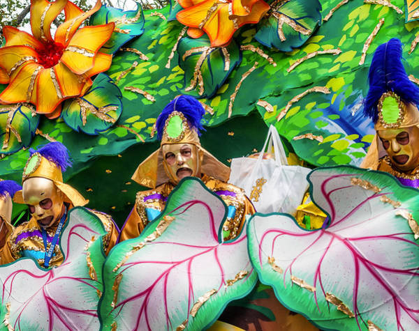 Nola Photograph - Mardi Gras Float by Steve Harrington