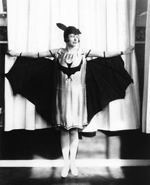 Halloween Photograph - Maria Mayer by Emilio Segre Visual Archives/american Institute Of Physics