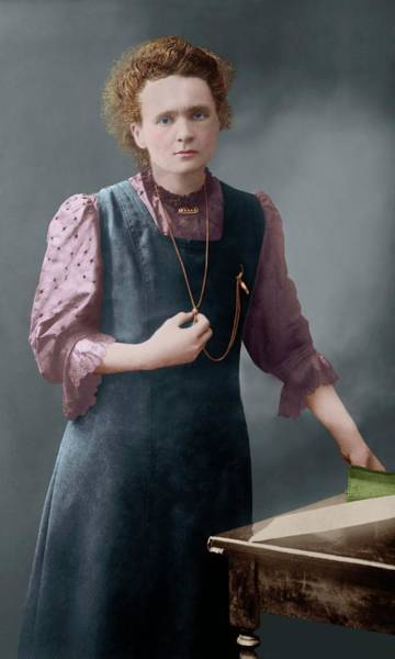 Nobel Wall Art - Photograph - Marie Curie by Library Of Congress