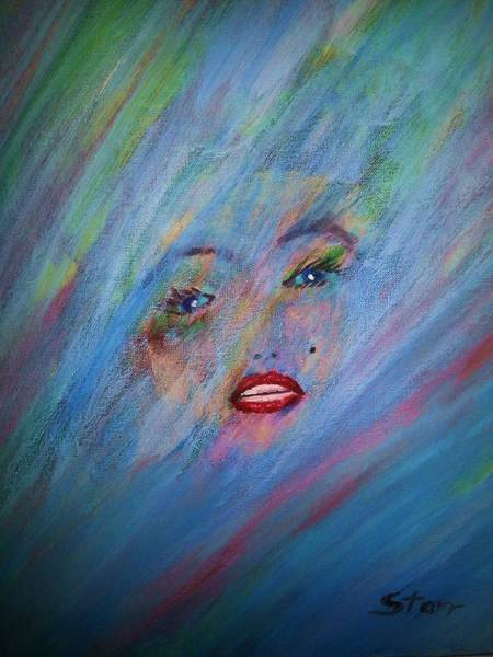 Norma Jeane Mortenson Painting - Marilyn by Irving Starr