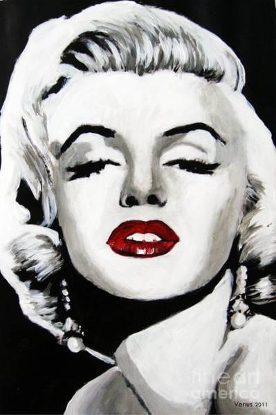Wall Art - Painting - Marilyn Monroe by Venus