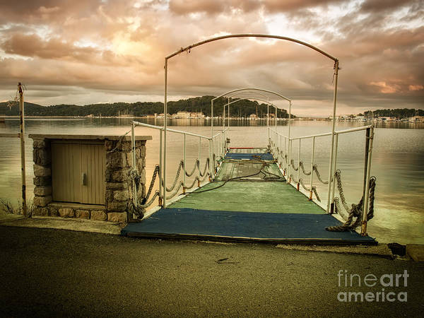 Losinj Photograph - Marina Pier by Sinisa Botas