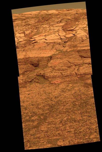 Endurance Wall Art - Photograph - Martian Rock Research by Nasa/science Photo Library