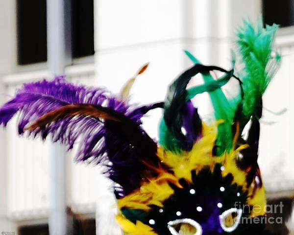 Digital Art - Mask by Lizi Beard-Ward