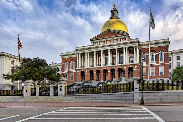 Photograph - Massachusetts State House by Susan Candelario