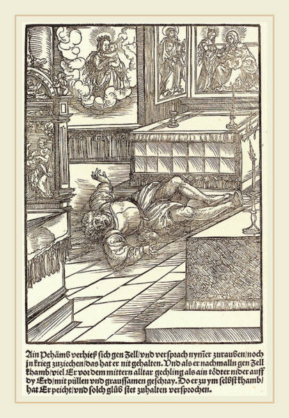 Miracle Drawing - Master Of The Miracles Of Mariazell German by Litz Collection