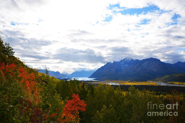 Art Print featuring the photograph Matanuska Glacier by Kate Avery