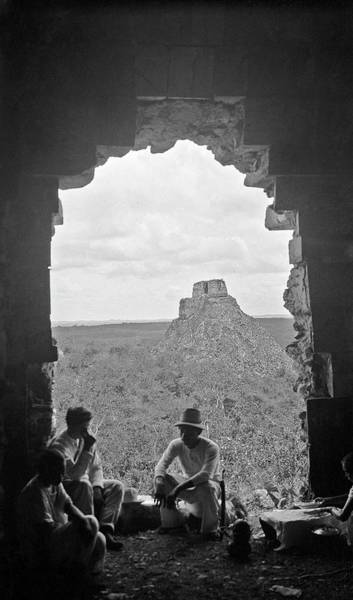 Mesoamerican Photograph - Mayan Ruins by American Philosophical Society