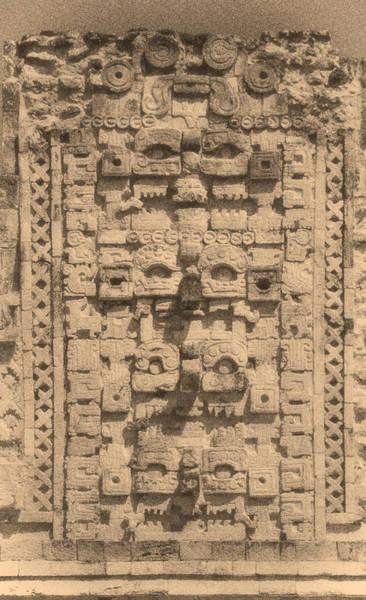 Chichen Digital Art - Mayan Sculpture by Roy Pedersen
