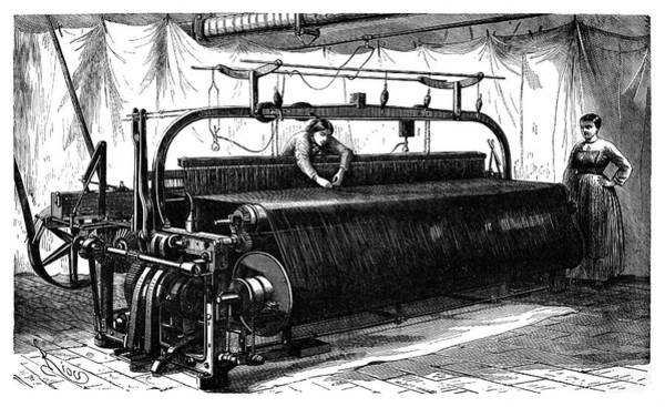 Wall Art - Photograph - Mechanical Loom by Science Photo Library