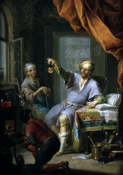 Photograph - Medical Alchemist by Will Brown/chemical Heritage Foundation/science Photo Library