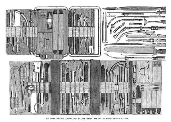 Painting - Medical Instrument, 1867 by Granger