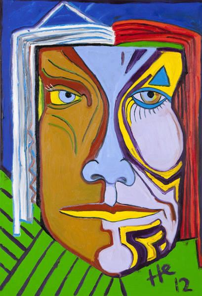 Painting - Medicine Man 36x24 by Hans Magden