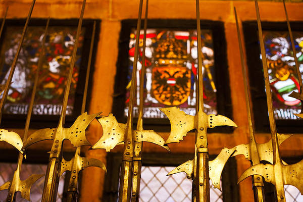 Vin Wall Art - Photograph - Medieval Armory, Chateau Du by Panoramic Images