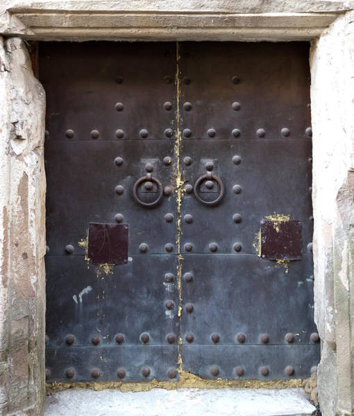 Damaged Photograph - Medieval Door by ????? ???????