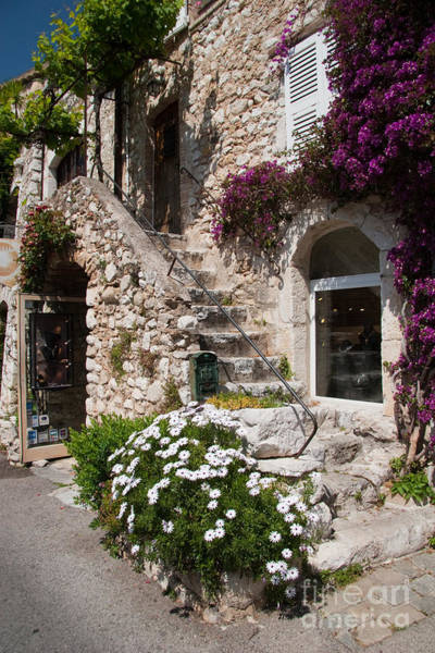 French Riviera Photograph - Medieval Saint Paul De Vence 3 by David Smith