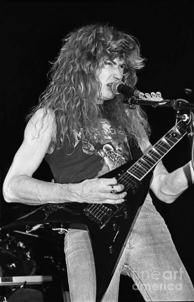 Megadeth Wall Art - Photograph - Megadeth by Concert Photos