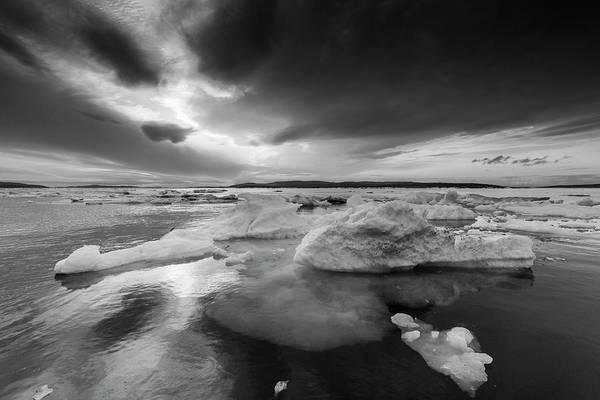 Wall Art - Photograph - Melting Sea Ice, Hudson Bay, Canada by Paul Souders