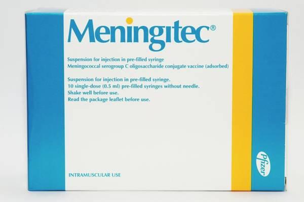 Prophylactic Photograph - Meningitec Meningitis C Vaccine by Dr P. Marazzi/science Photo Library