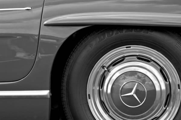 Photograph - Mercedes Wheel by Jill Reger