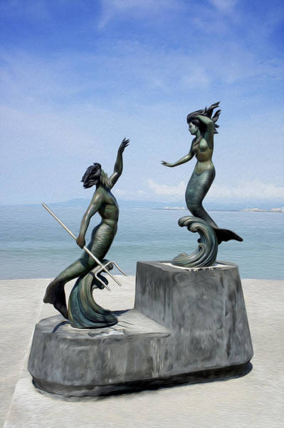 Jalisco Photograph - Mermaids by Aged Pixel