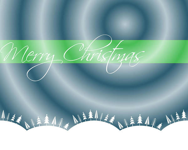 Wall Art - Digital Art - Merry Christmas by Cathie Tyler