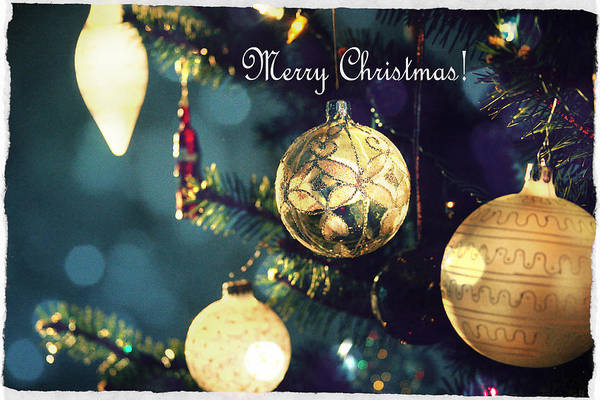 Photograph - Merry Christmas by Emanuel Tanjala